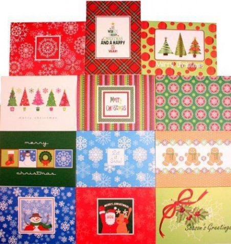 16 Christmas Cards buy 1 Get 1 Free