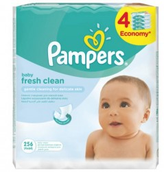 PAMPERS - Fresh Baby Wipes...