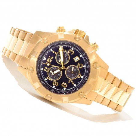 Gold Invicta Men's Speciality Quart Watch