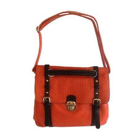 Orange Book Fashion Handbag