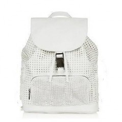 Beautiful Light Gray Fashion Satchel