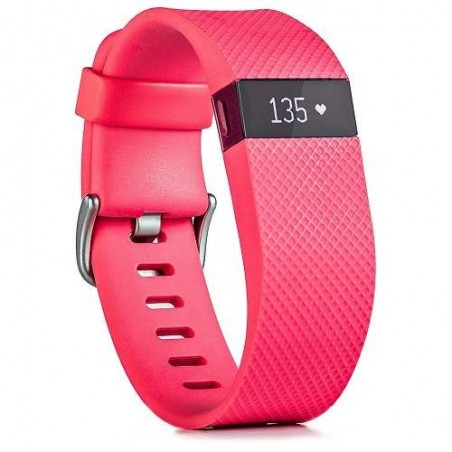 Fitbit Charge HR Activity, Heart Rate + Sleep Wristband - Pink