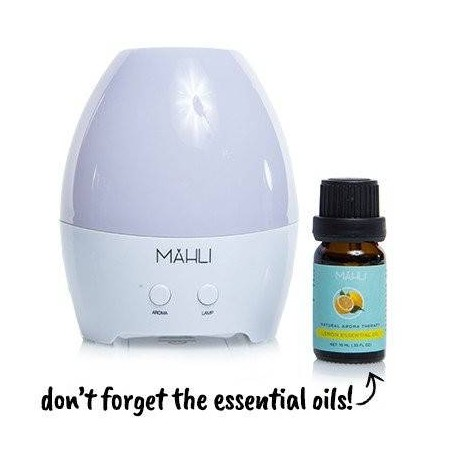 LED desktop essential oil...